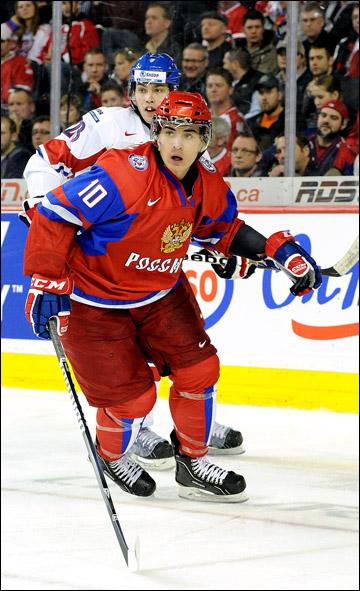 Наиль Якупов на молодежном чемпионате мира
