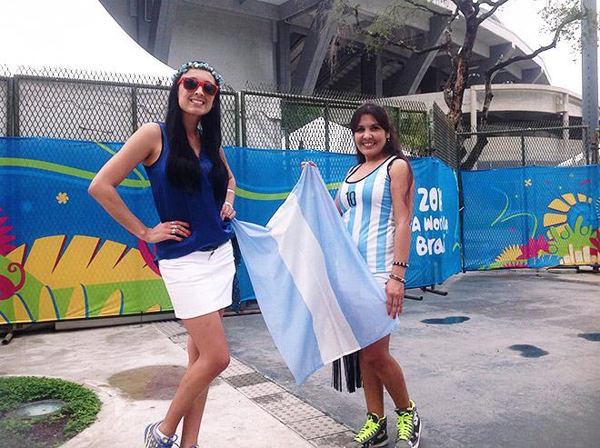 Анхелес из Буэнос-Айреса и Мария из Корриентеса