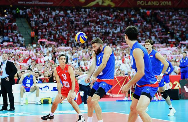 Сборная Польши разгромила Сербию в матче открытия чемпионата мира