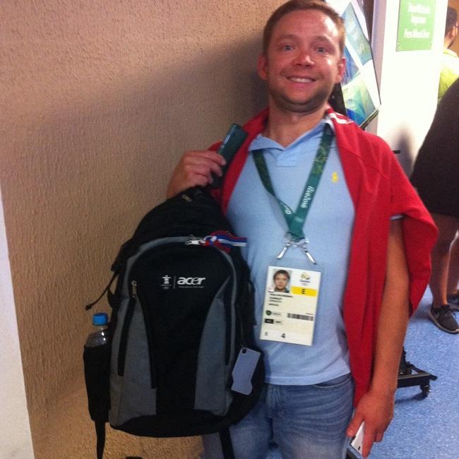 Раритетная сумка с Олимпиады в Ванкувере
