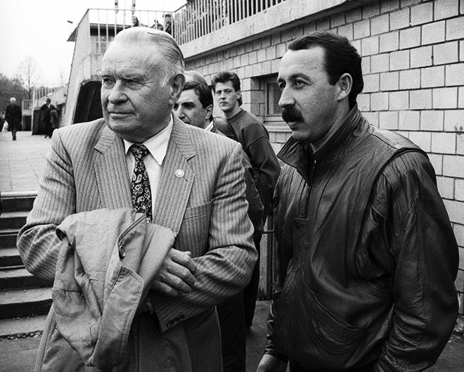 Константин Бесков и Валерий Газзаев