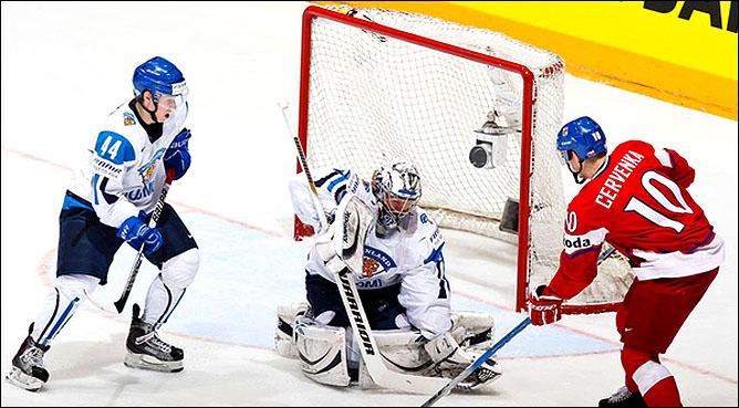 20.05.2010. ЧМ-2010. 1/4. Финляндия - Чехия - 1:2 ПБ. Фото 01.
