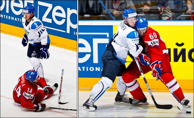20.05.2010. ЧМ-2010. 1/4. Финляндия - Чехия - 1:2 ПБ. Фото 02.