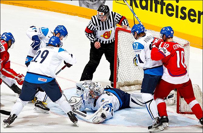20.05.2010. ЧМ-2010. 1/4. Финляндия - Чехия - 1:2 ПБ. Фото 05.