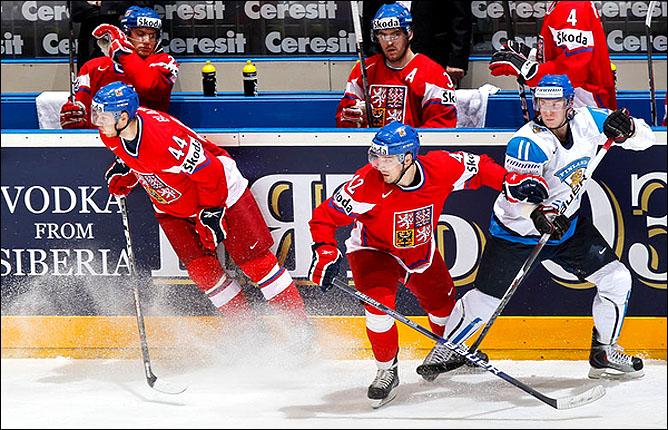 20.05.2010. ЧМ-2010. 1/4. Финляндия - Чехия - 1:2 ПБ. Фото 06.