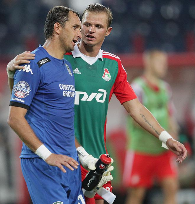 Игра «Локомотив» — «Краснодар» закончилась нулевой ничьей