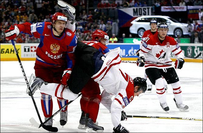 20.05.2010. ЧМ-2010. 1/4. Россия - Канада - 5:2. Фото 01.
