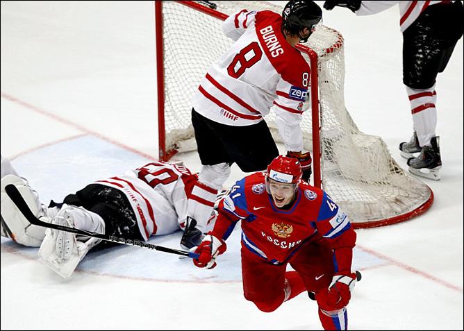 20.05.2010. ЧМ-2010. 1/4. Россия - Канада - 5:2. Фото 03.