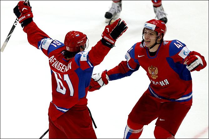 20.05.2010. ЧМ-2010. 1/4. Россия - Канада - 5:2. Фото 06.