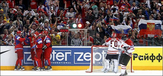 20.05.2010. ЧМ-2010. 1/4. Россия - Канада - 5:2. Фото 07.