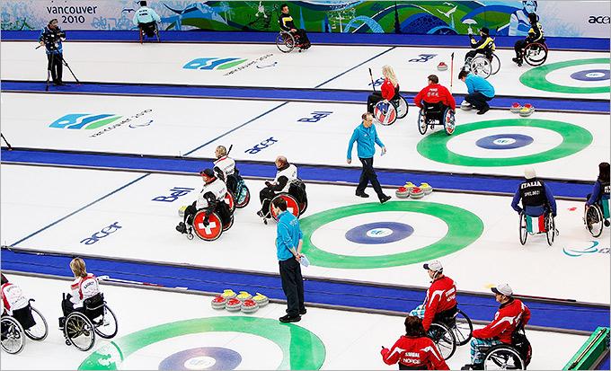 Сборная России по кёрлингу на колясках дебютирует на Паралимпиаде в Сочи