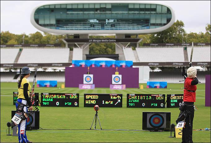 Lord's Cricket Ground. Именно здесь пройдёт турнир лучников