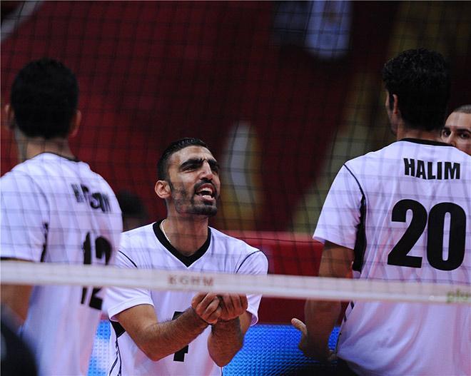 Звезда североафриканского волейбола - диагональный Ахмед Салах