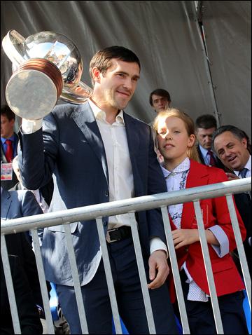 Павел Дацюк — чемпион мира 2012 года