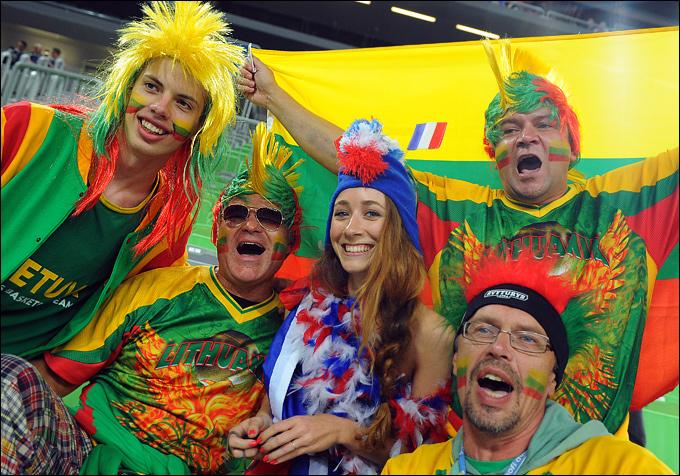 Литовские болельщики