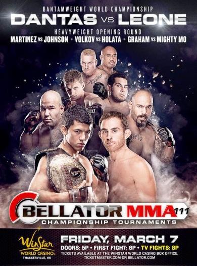 Постер к турниру Bellator 111