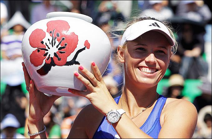 Каролина Возняцки завоевала первый титул в нынешнем сезоне