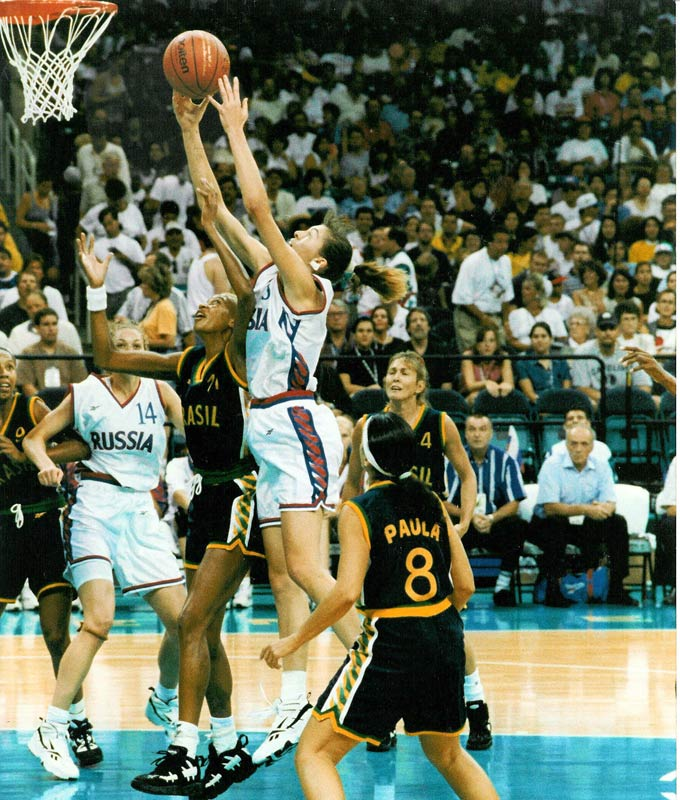 Елена Баранова на Олимпиаде-1996