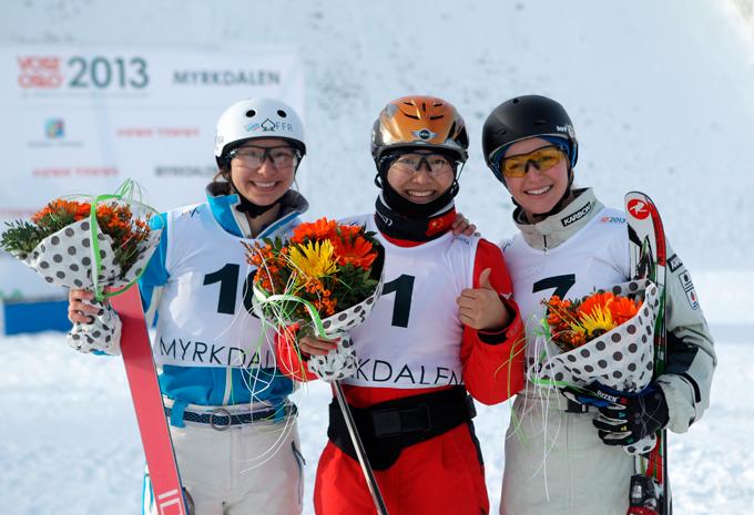Вероника Корсунова вписала себя в число претенденток на медали в Сочи