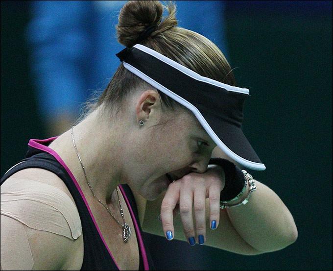 Алиса Клейбанова вышла в четвертьфинал