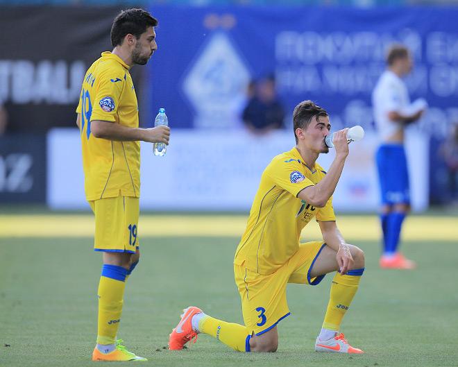 Пауза в матче «Динамо» — «Ростов»