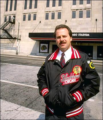 """Майк Кинэн, главный тренер """"Чикаго"""", 1988 год"""