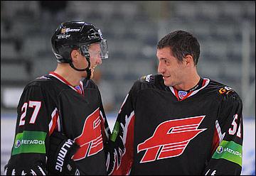 Андрей Таратухин и Игорь Волков