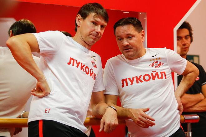 Дмитрий Аленичев и Егор Титов