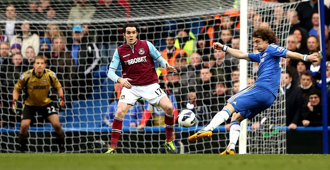 """""""Челси"""" – """"Вест Хэм Юнайтед"""" – 2:0"""