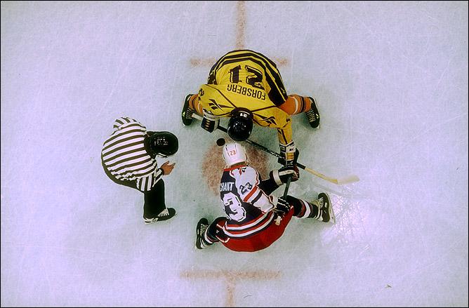 Кубок Мира 1994 года. Петер Форсберг – капитан сборной Швеции
