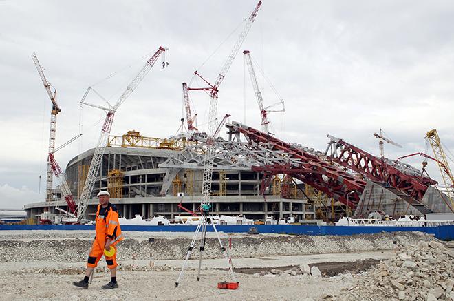 Текущее состояние стадиона «Фишт» не позволяет использовать его для спортивных соревнований без реконструкции