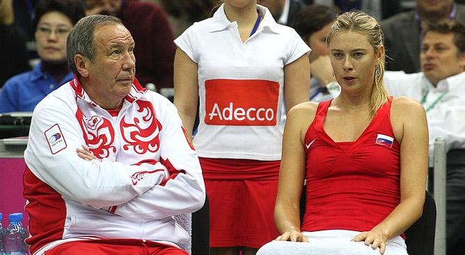 Шамиль Тарпищев и Мария Шарапова: и сказать-то нечего…