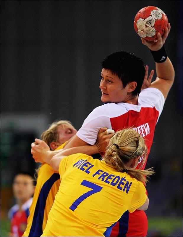 Анна Кареева вместе с партнёршами по команде выиграла серебро Пекина