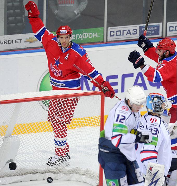 Павел Дацюк в ЦСКА