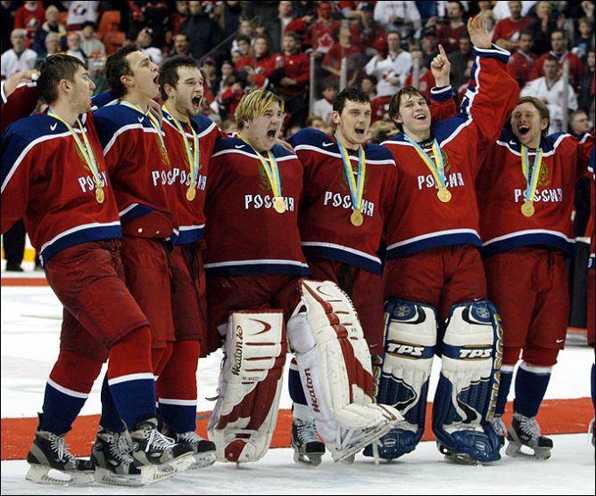 5 января 2003 года. Галифакс. Молодежная сборная России — чемпион мира.