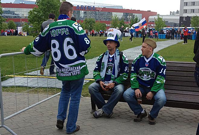 Ради матча Россия — Финляндия болельщики готовы добираться даже из Ханты-Мансийска…