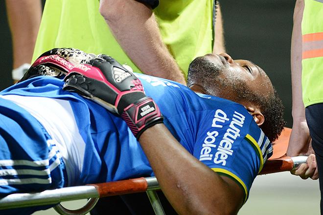 Голкипер «Марселя» Стив Манданда получил травму и пропустит чемпионат мира