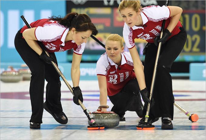 Очередное поражение женской сборной России по кёрлингу