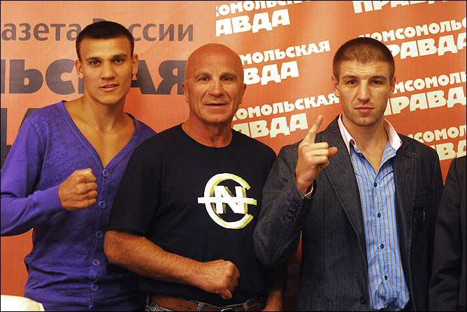 Максим Власов, Виктор Петроченко и Дмитрий Пирог.