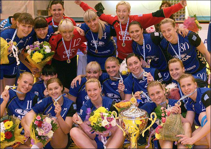Женская гандбольная сборная России