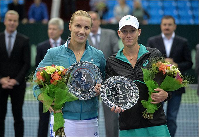 Светлана Кузнецова и Саманта Стосур выиграли Кубок Кремля