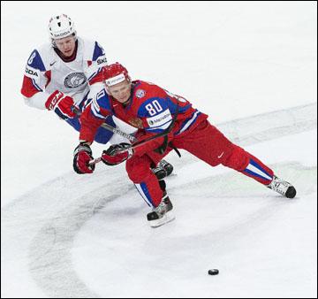 Евгений Кетов против сборной Норвегии