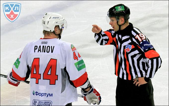 Константин Панов и судьи