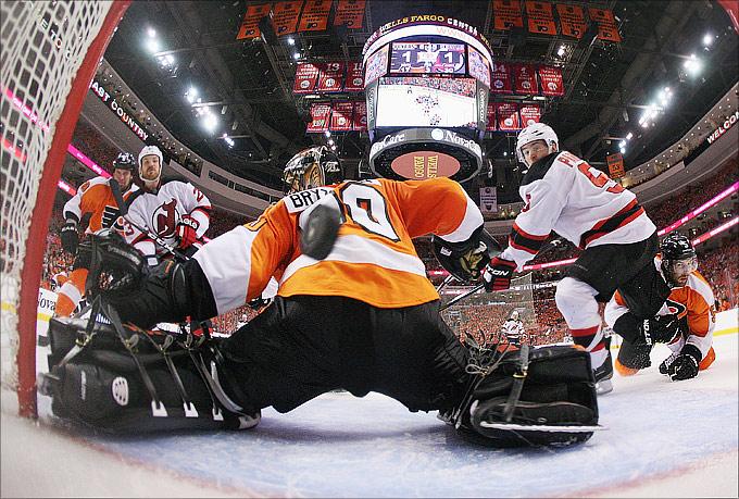 """2 мая 2012 года. Филадельфия. Плей-офф НХЛ. 1/4 финала. """"Филадельфия Флайерз"""" — """"Нью-Джерси Девилз"""" — 1:4"""