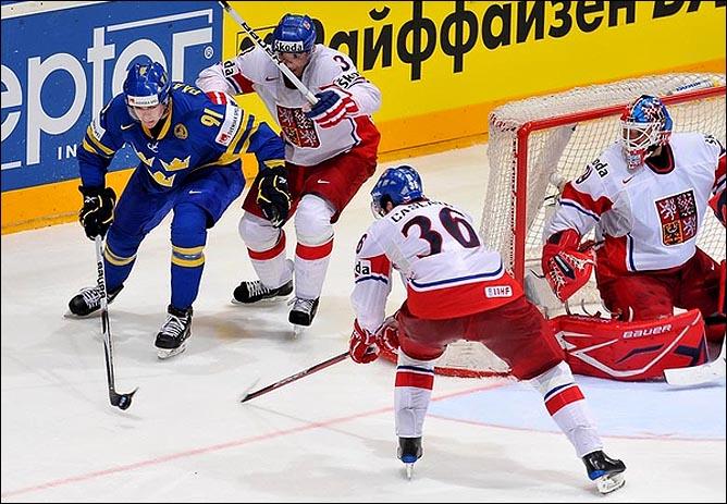 22.05.2010. ЧМ-2010. 1/2 финала. Швеция - Чехия - 1:2 (1:2). Фото 01.