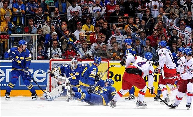 22.05.2010. ЧМ-2010. 1/2 финала. Швеция - Чехия - 1:2 (1:2). Фото 03.