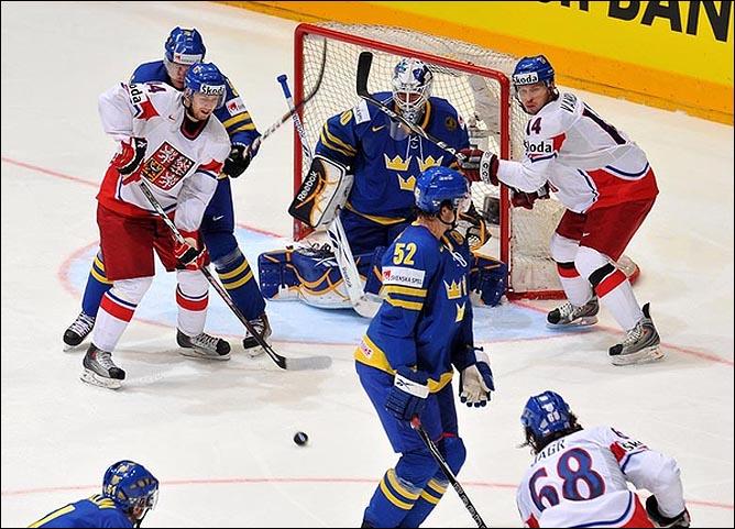 22.05.2010. ЧМ-2010. 1/2 финала. Швеция - Чехия - 1:2 (1:2). Фото 05.