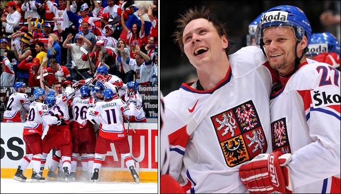 22.05.2010. ЧМ-2010. 1/2 финала. Швеция - Чехия - 1:2 (1:2). Фото 06.