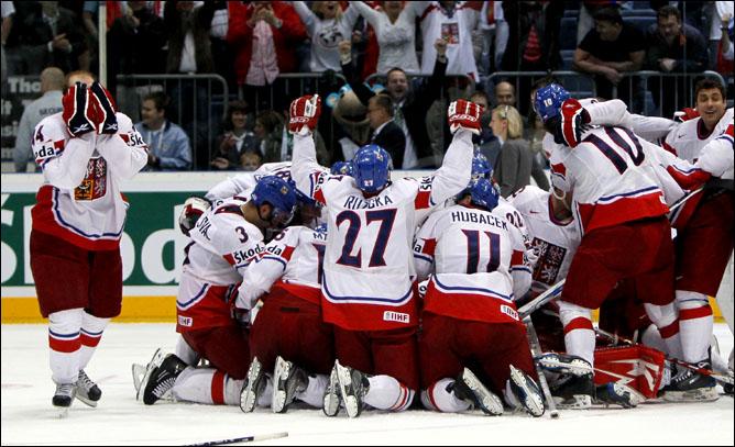 22.05.2010. ЧМ-2010. 1/2 финала. Швеция - Чехия - 1:2 (1:2). Фото 07.