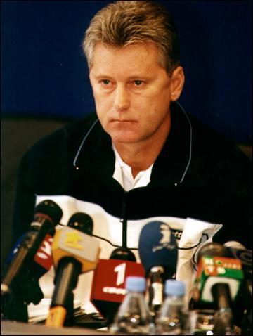 Немало потрудился Буряк в национальной сборной Украины